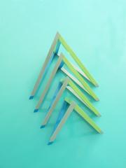 Uli Schallenberg Vier Simplexe farbig Photo: ©Thies Wulff